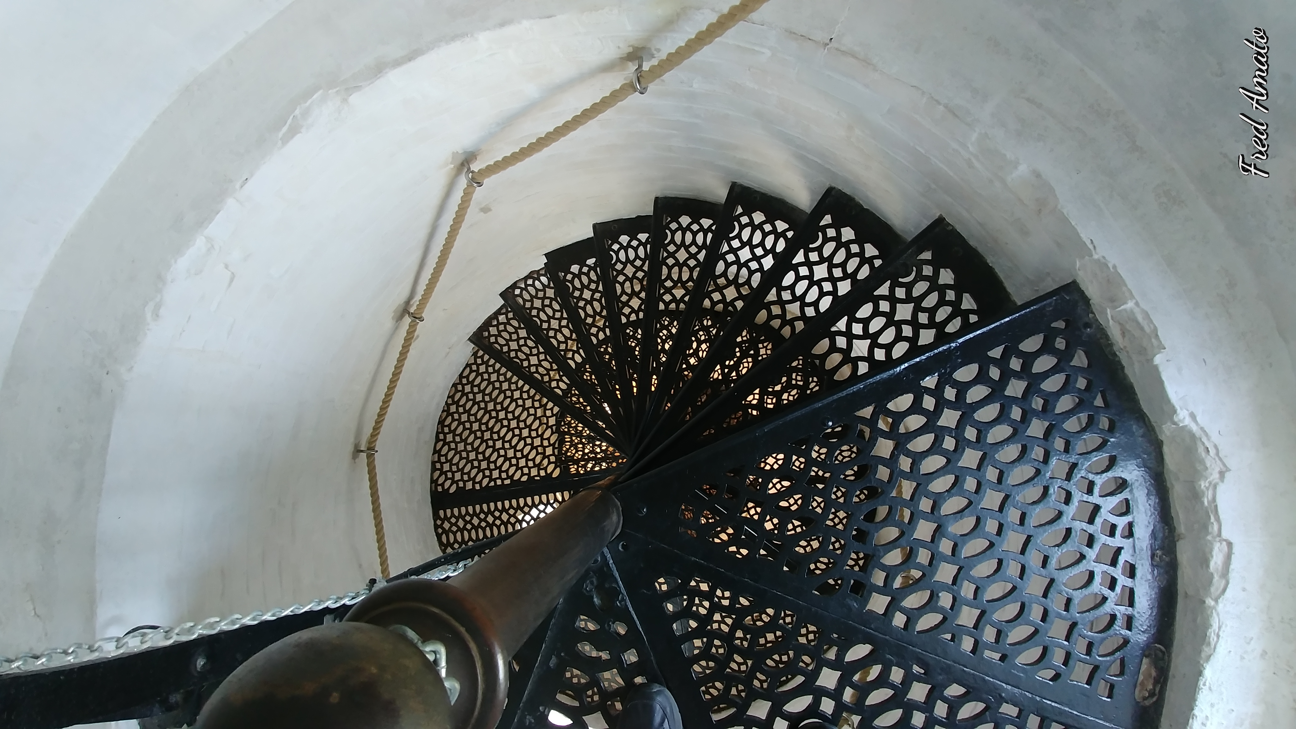 Looking Down the Stairwell
