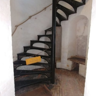 Circular Stairs at Bottom of the Tower
